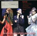 S.H.E/2gether 4ever Encore 演唱會影音館 BD+DVD 台湾盤