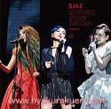 S.H.E/2gether 4ever Encore 演唱會影音館 3DVD 台湾盤